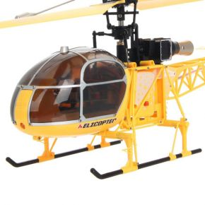 WLtoys V915 2.4G 4CH Scale Lama RC Helicopter RTF YELLOW COLOR