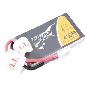 Tattu 75C 1S1P 3.7 v 450mah Lipo Battery Pack with Molex Plug TA-75C-450-1S1P-Molex