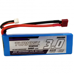 Turnigy 3000mAh 3S 40C Lipo Pack w/Dean Connector