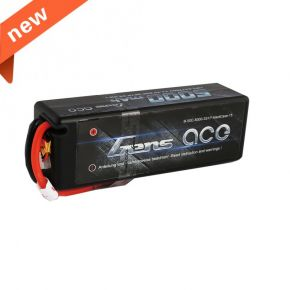 Gens ace 5000mAh 11.1V 50C 3S1P HardCase Lipo Battery with Deans Plug