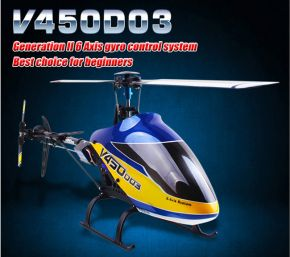 Walkera V450D03 6-Channel 3D 6-Axis Flybarless Brushless RC Helicopter