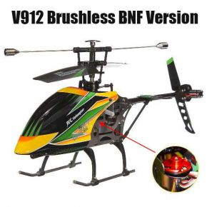WLtoys V912 Sky Dancer Brushless Version 4CH RC Helicopter BNF Version