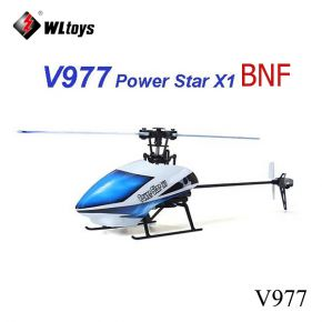 WLtoys V977 Power Star X1 6CH 2.4G Brushless RC Helicopter BNF