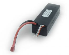 11.1V 6500mAh 75C hard case LIPO battery with T plug