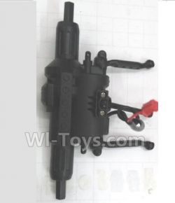 Wltoys 18428-B Car Spare Parts-0550 Rear Drive Gearbox Assembly with Motor