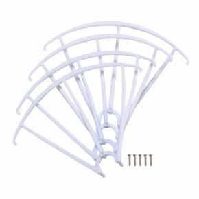 Quadcopter Blade Propeller Protection Frame for SYMA & X5SW-04 X5SC-1 X5C White