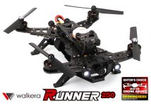 Walkera Runner 250 Drone Racer 250 Size Racing Quadcopter Basic Version - RTF/BNF - (Optional with DEVO 7 Mode 2) Ready to Fly