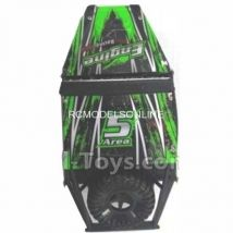 Wltoys 18428-B Car Spare Parts-0538 Climbing car shell Car canopy - Green