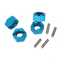 Wltoys A949 A959 A969 A979 RC Car Parts Upgraded Aluminum Hexagon Wheel Seat With Pins