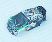 WLtoys K989-55 1/28 Rally Bodyshell