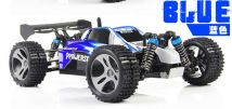 Wltoys A959 Rc Car 1/18 2.4Gh 4WD Off-Road Buggy BLUE Ready to Run