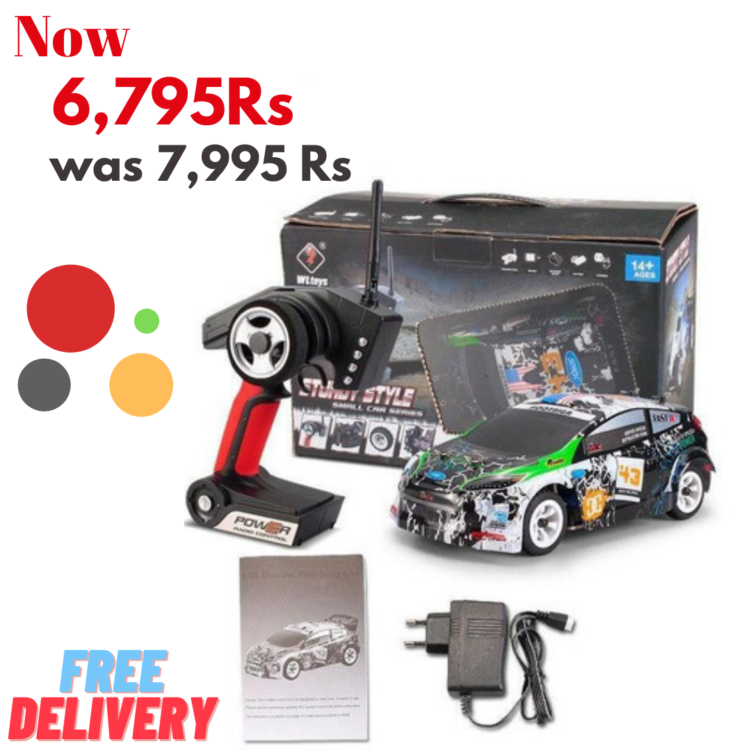 Upgraded WLtoys K989 1/28 High-Speed 4CH 4WD 2.4GHz Brushed RC Rally Car Remote Control Car